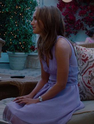 natalie portman lavender dress dress