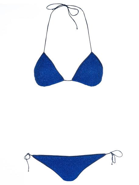 Oseree Metallic Thread Bikini