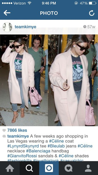 kim kardashian boyfriend coat