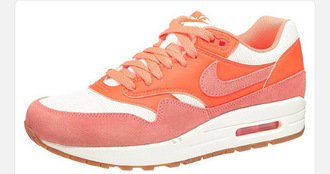 shoes nike nike air force air max orange rose pink summer ?t?
