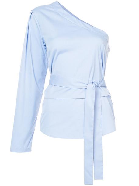 top women cotton blue