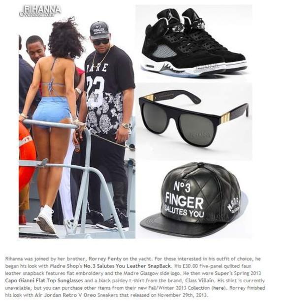 c1a06da0f2fa4b hat rihanna overdose snapback sunglasses jordans quilted leather swag dope  bikini converse shoes