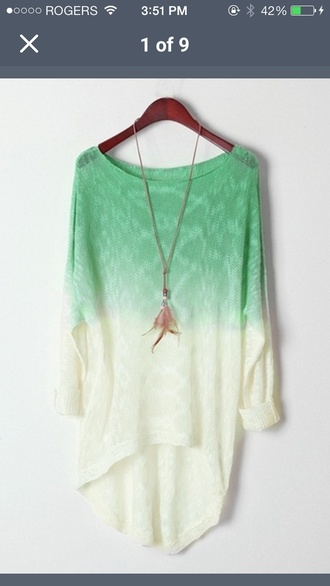 shirt ombre long sleeve shirt