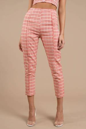 Teenage Dream Plaid Pants