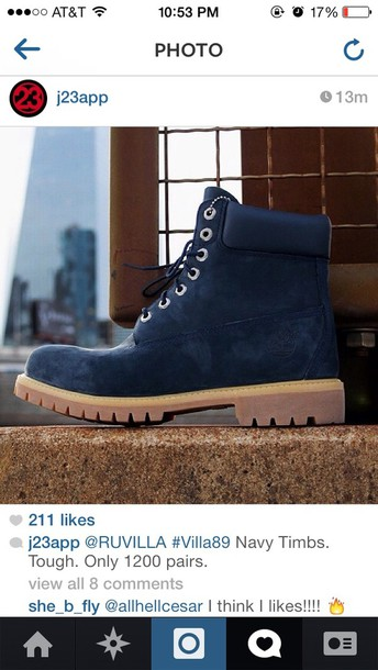 shoes, navy, timberlands, boots, winter boots, navy, cute
