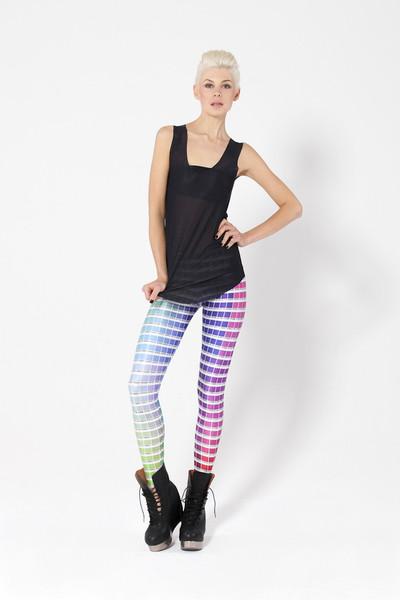 Hex Colour Leggings   Black Milk Clothing