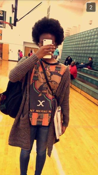 shirt urban hipster black malcolm x t shirts malcolm x african american