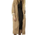 Tan Wool Full Length Coat