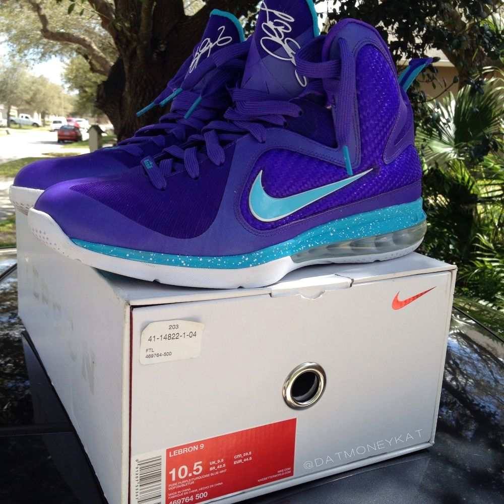 Lebron 9 Summit Lake Hornets Size 10 5 | eBay