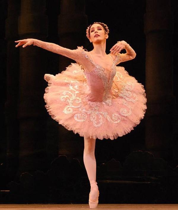 Dress: tutu, sleeping beauty, ballet, light pink, pink ...