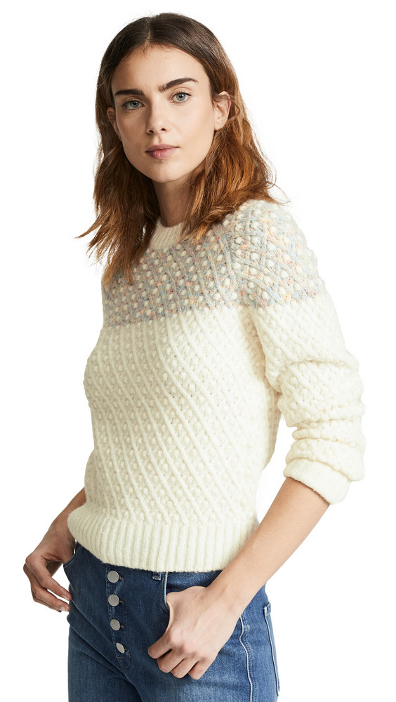 A.P.C. A.P.C. Lainia Sweater in ecru