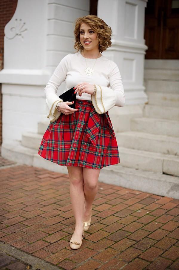 b186c9cab shoes something delightful bag blogger dress jewels sweater skirt
