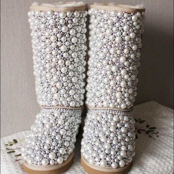 26% off UGG Boots - Customized pearl uggs from Mika's closet on Poshmark