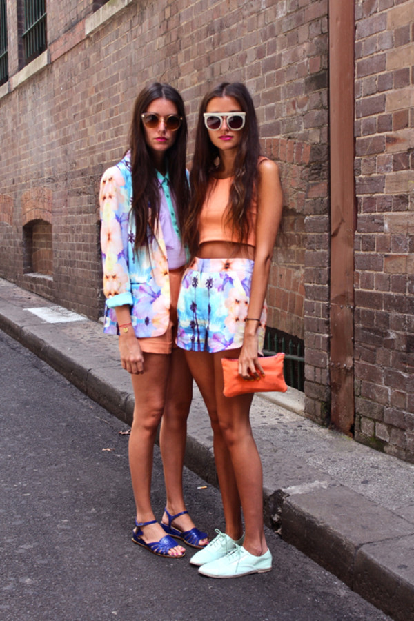 shorts palm colorful summer clothes jacket palm tree print sunglasses