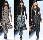 dress,bqueen,fashion,girl,chic,sexy,bandage,party,leopard print,print,mesh,long sleeves,zip