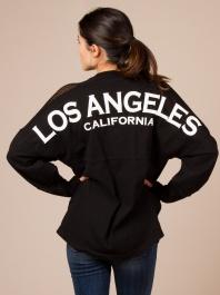 Los Angeles Jersey in Black by Spirit - ShopKitson.com
