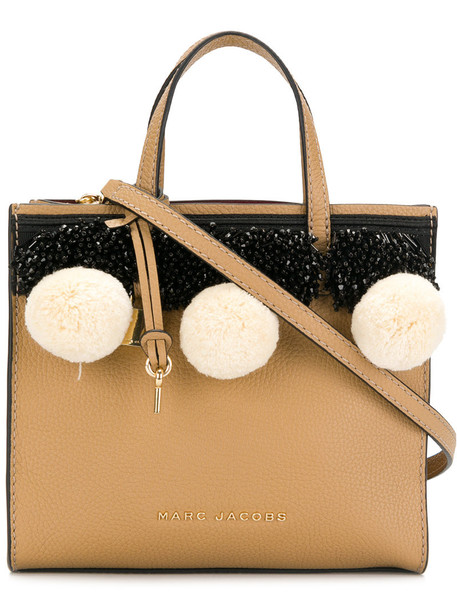 Marc Jacobs women leather nude bag