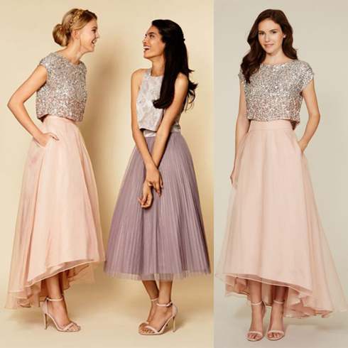 prom dress, sequin bridesmaid dress, cap sleeve prom dress, 2015 ...