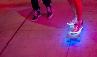shoes light-up sneakers