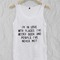 I'm in love with places quote adult tank top men and women