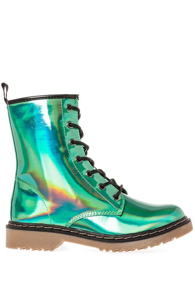 Karmaloop Sole La Vie The Bittersweet Boot Swamp Green | eBay