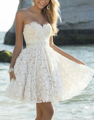 dress white dress beautiful dress