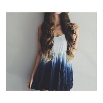 brandymelville tie dye tie dye dress ombre bleach dye dress