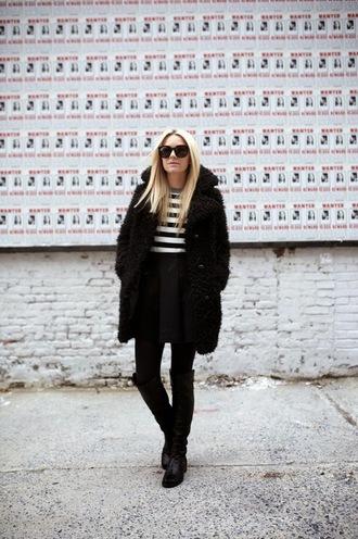 atlantic pacific blogger jacket sweater dress top skirt shoes sunglasses bag