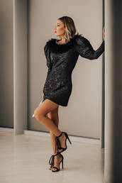 mi aventura con la moda,blogger,dress,shoes,bag,jewels,cocktail dress,sandals,high heel sandals,black dress