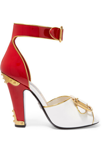 embellished sandals leather sandals leather red shoes