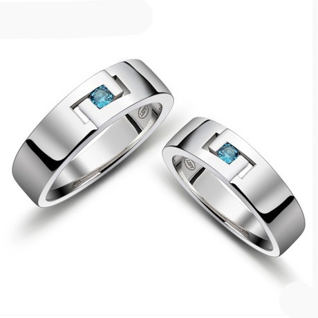 Korean Engravable Promise Rings Set for Men and Women Personalized Couples Gifts | His Her Necklaces and Bracelets | Engraved Wedding Rings | Couples Clothing