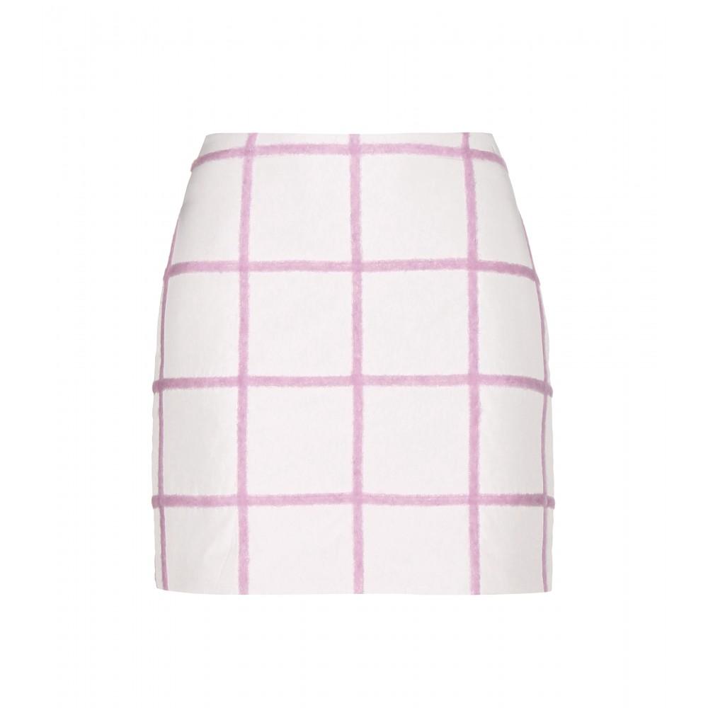 mytheresa.com - Wool-blend mini skirt - Short - Skirts - Clothing - Luxury Fashion for Women / Designer clothing, shoes, bags