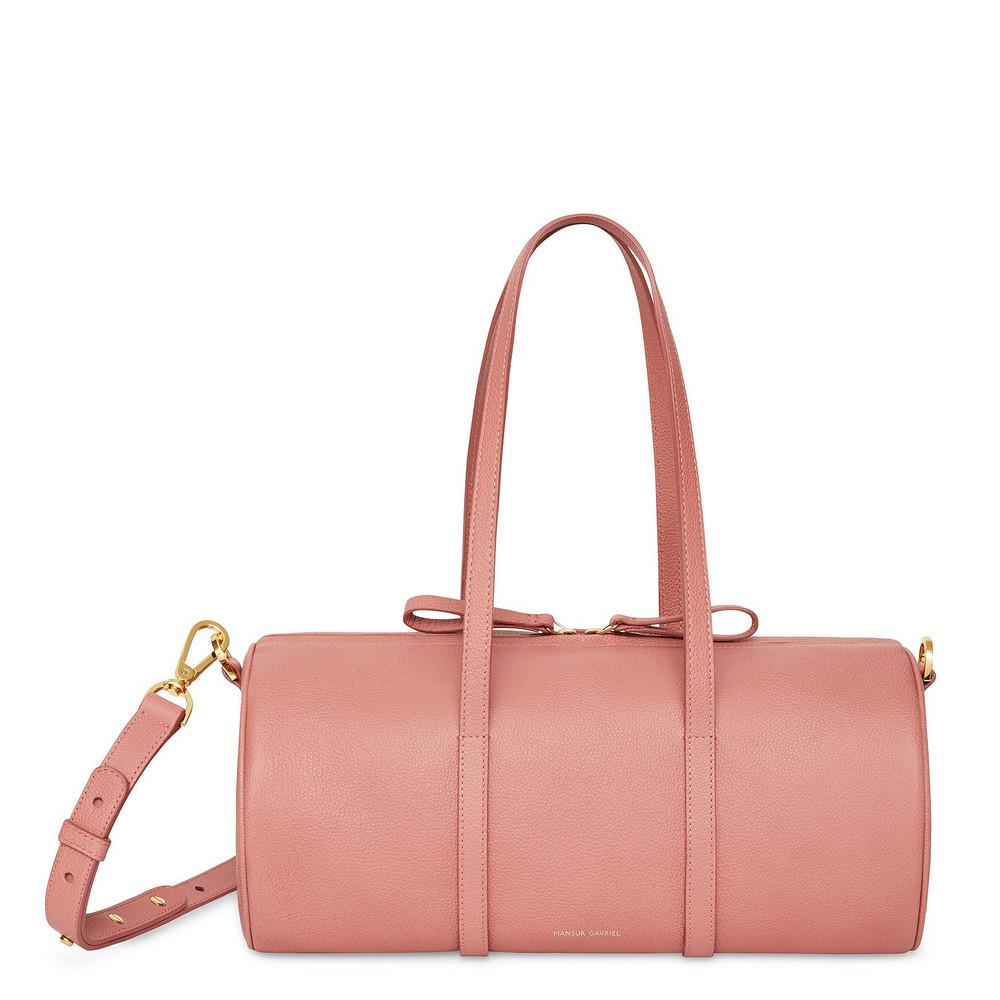 Mansur Gavriel Pebble Mini Duffle Bag - Blush/Blush