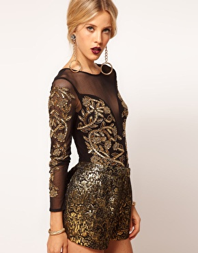 ASOS | ASOS Body with Baroque Embellishment at ASOS