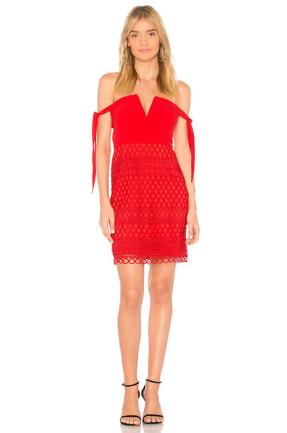 Stylestalker dress red