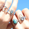 Shop dixi bohemian sterling silver rings uk - free worldwide shipping on orders £50