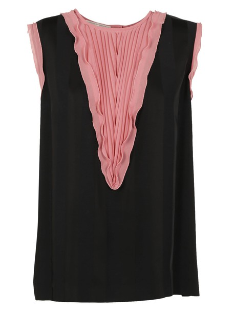 Marco De Vincenzo tank top top pleated