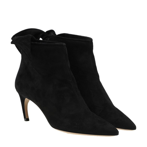 dior bow oversized black shoes