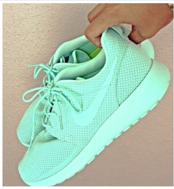 a02f56081a083 green shoes from NIKE Roshe Run Id available for  120 at store.nike ...