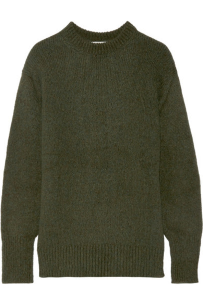 Tibi - Knitted Sweater - Army green