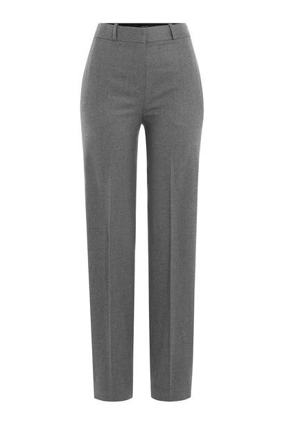 theory wool grey pants