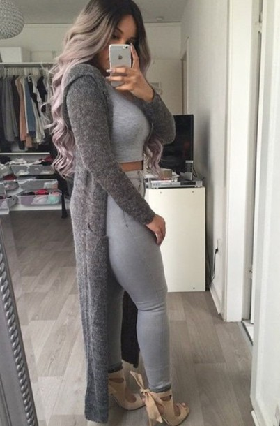 Shop our Collection of Women's Gray Sweaters at loadingtag.ga for the Latest Designer Brands & Styles. FREE SHIPPING AVAILABLE!
