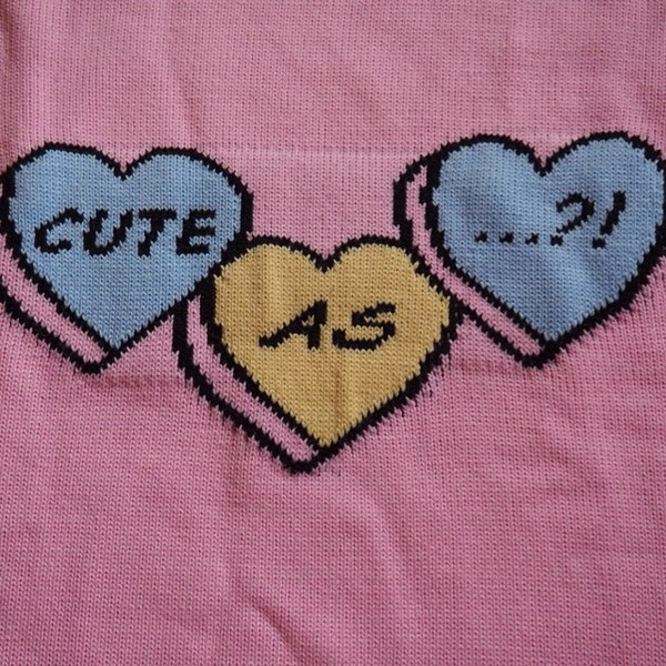 heart pastel goth pastel pastel grunge asos sweater