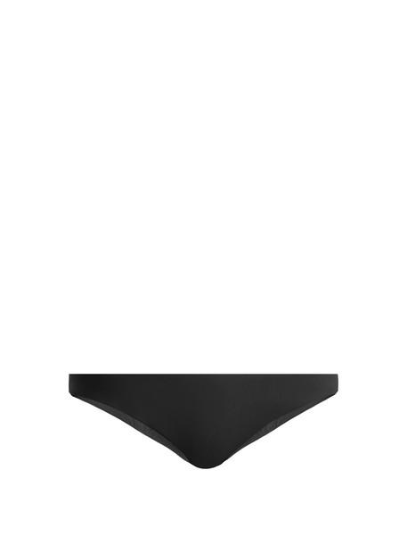 DOS GARDENIAS bikini black swimwear