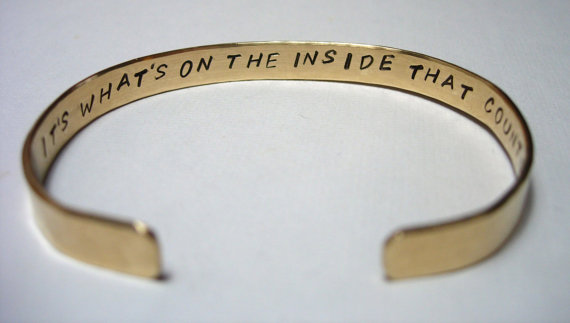 It's what's on the inside that counts  by jhammerberg on etsy