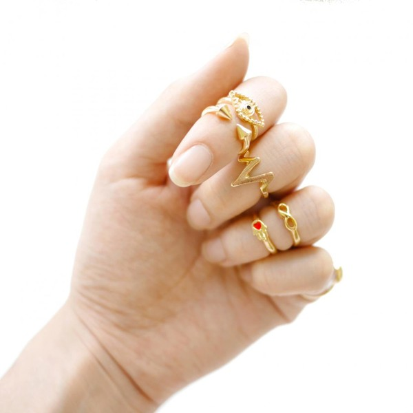 jewels ring knuckle ring women fashion