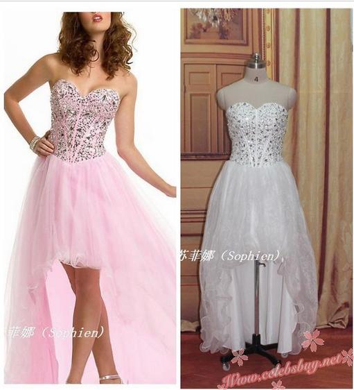 Celebrity prom dress: Celebrity silver jewel prom dress $149.99 each at celebsbuy.net
