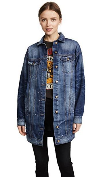 Prps jacket oversized jacket oversized vintage blue