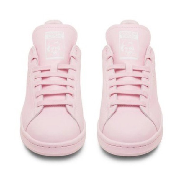 shoes, pink, adidas, stan, smith, stan smith, light pink ...
