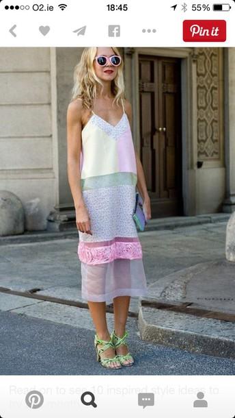 dress pastel dress